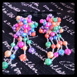 Jewelry - Clustered Multi Color Dangle-Bag 2